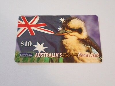 Telstra Phonecard $10 Value KOOKABURRA!