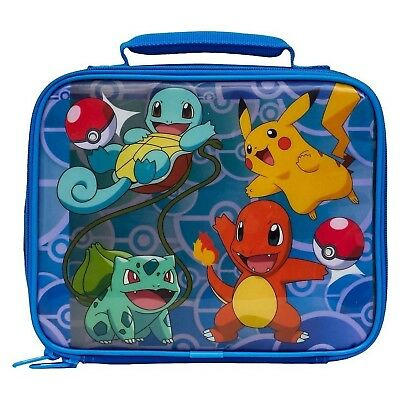Pokemon Soft Lunch Box (Pokemon Blue)