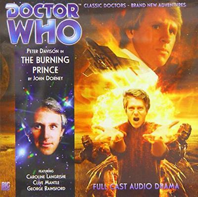 The Burning Prince (Doctor Who) by Dorney, John | Audio CD Book | 9781781780190