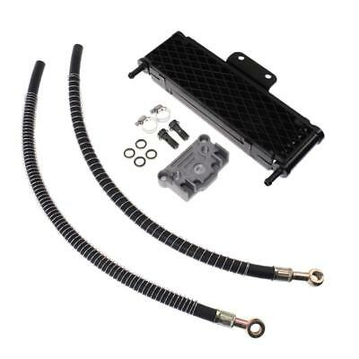 Black Oil Cooling Radiator For 140 150 160cc Horizontal Engine Motorcycle