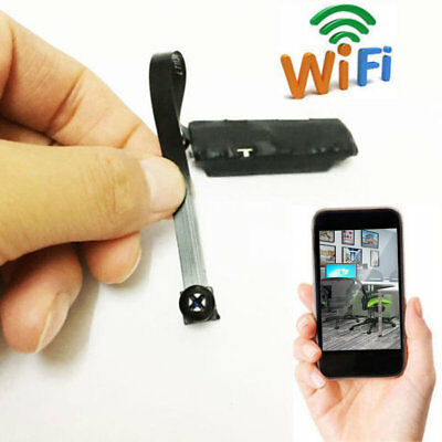 Wireless Nanny Cam WIFI IP Pinhole DIY Digital Video Camera Mini Micro DVR FG