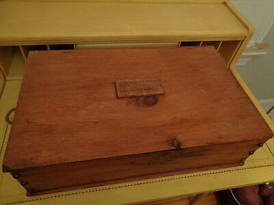 CAPE COD SEA CHEST vintage wooden box New England pine