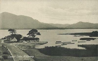 Old Postcard Lower Lake Killarney Ireland