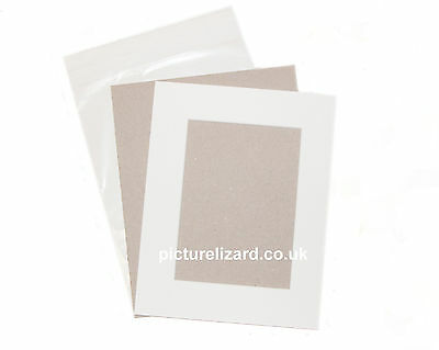 """11x14"""" VALUE Picture Photo Mount Kits. Inc Mounts, Backing Boards and Bags"""
