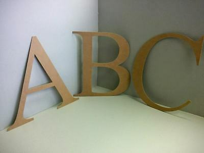 EXTRA LARGE mdf Wooden Letters & Numbers Alphabet Letters & Numbers, 2.5mm Thick