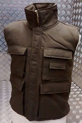 Hunters Action Vest OD Green Tactical Fishing Body Warmer All Sizes - NEW