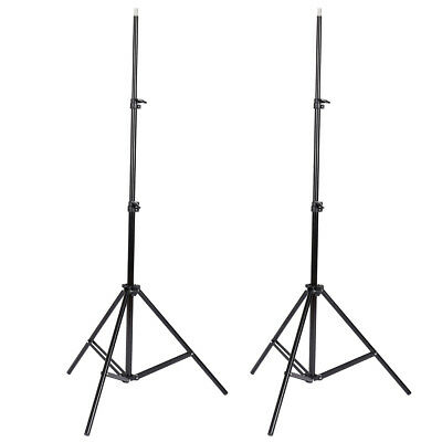 2pcs Light Stand for Lamp Holder Flash Strobe Photo Video Studio Tripod Support