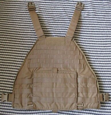 EAGLE INDUSTRIES SCALABLE Plate Carrier Mbav Front With Kevlar Panel   Coyote  L