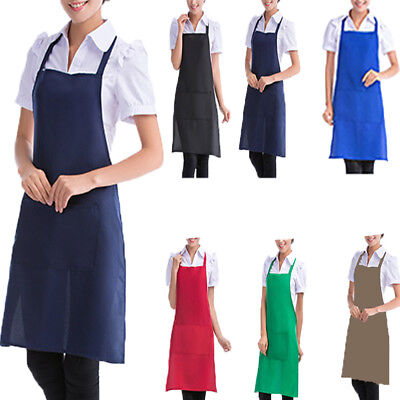 Restaurant Waterproof Household Cooking Aprons Clean Women Kitchen Apron Gift