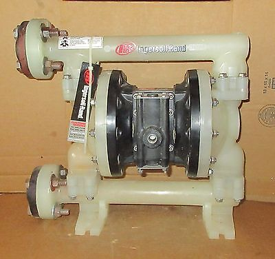 "Aro 1"" Air Diaphragm Pump PD10P  Polypropylene Body w Santoprene Diaphragm"