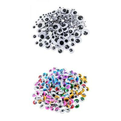 476pcs Assorted Colorful Self Adhesive Sticky Wiggle Googly Eyes for Craft