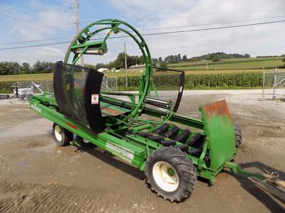 Anderson Rb9000 Self Propelled Bale Wrapper, Hydraulic Gate, 13 Hp Honda Engine