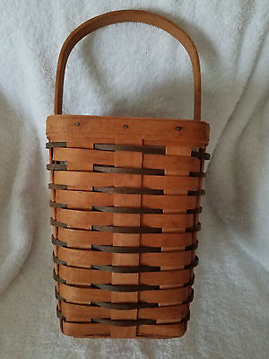 Longaberger 1993 Heartland Large Peg Basket