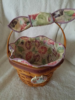 "Longaberger 2000 May Series ""Morning Glory"" Basket"