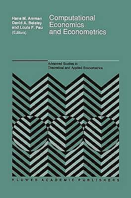 Computational Economics and Econometrics, Amman, H.