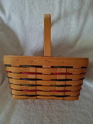 "Longaberger Woven Tradition ""Spring Basket"" 1997"
