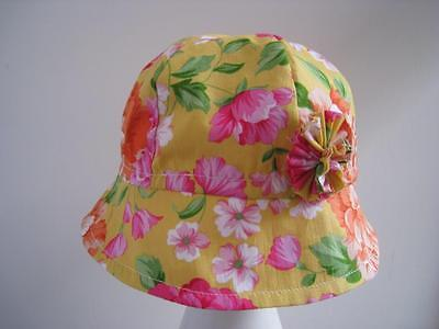 Hat/sunhat Baby/Toddler Floral Girl pretty Handmade SALE Price