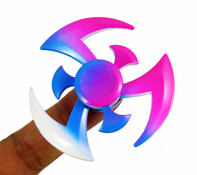 New multicolor EDC Fidget Triangle Hand Spinner Metal ADHD Autism Focus Finger #