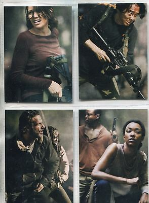 Walking Dead Season 4 Part 2 Complete Posters Chase Card Set D5-8