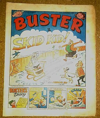 Vintage Buster Comic Issue 12th January 1980 IPC Publications