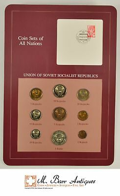 Coin Sets Of All Nations - Union Of Soviet Socialist Republics *596