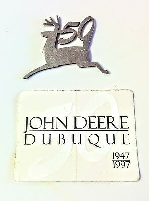 1997 John Deere Dubuque Works 50th Anniversary Decal &