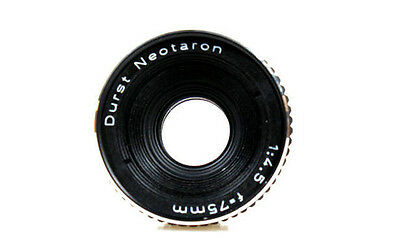 Durst Neotaron 75mm F4.5 Rodenstock Enlarging Copy Lens with 39mm Leica thread