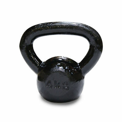 BodyPower™ Cast Iron Kettle Bell - 4kg - 40kg Singles