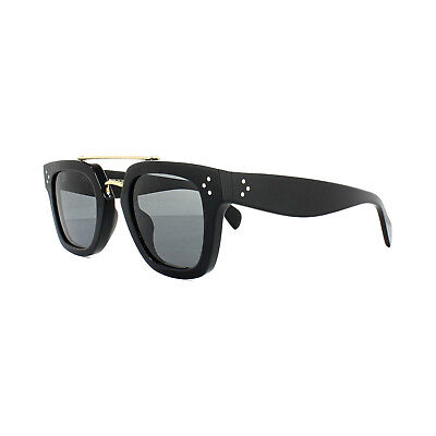 Celine Sunglasses 41077/S Bridge 807 BN Black Dark Grey