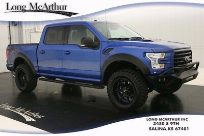 2016 Ford F-150 BAJA 740 SUPERCHARGED V8 4WD CREW MSRP $87220 LIFTED F-150 LIFT KIT FOX SHOCKS  NAVIGATION LEATHER PANORAMIC MOONROOF TRUCK