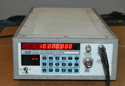 EIP Phase Matrix 25B Microwave Frequency Counter 10hz-20GHz, Tested GOOD