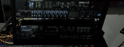 metric halo uln2 2D expanded +dsp audio interface with adat included Rack ears