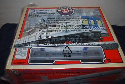 Lionel 6-30085 MTA Metro-North RR 25th Anniversary M-7 Commuter Train Set MIB **