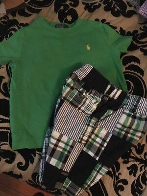 Boys toddler Gymboree Shorts Polo Shirt 24 Months 3t