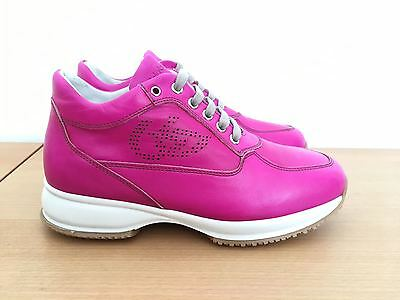 Scarpe donna Byblos n°36,39 sneakers pelle fuxia interactive SCONTATISSIME