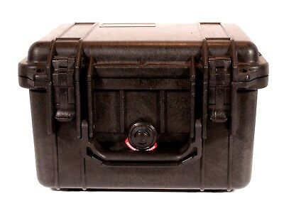 Pelican 1300 Protection Travel Case Black With Foam Used
