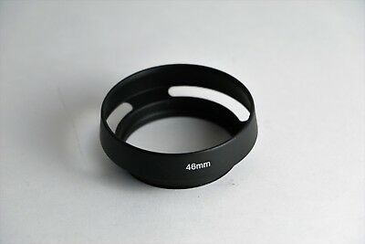 Lens Hood Shade for Leica M 46mm metal vented