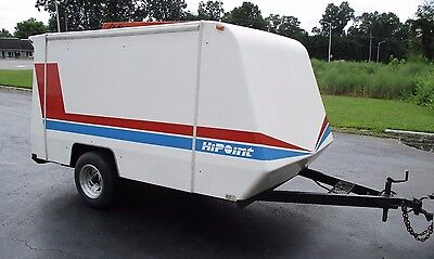 1994 Hipoint Enclosed Trailer Fiberglass Trailer W/ Ramp Door 11'x6.5'x5' Ht