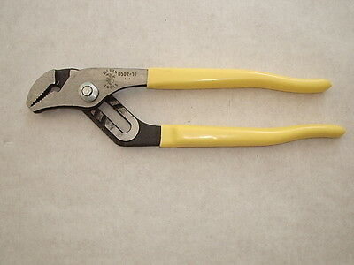 """Klein Tools D502-10 10"""" Pump Pliers New Free Shipping"""