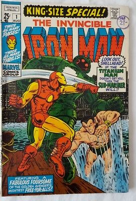 Invincible Iron Man King Size Special 1 - Submariner appears