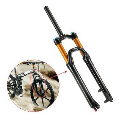 MTB Bicycle Bike Front Fork Light Air Suspension Forks for 26'' Cycling Y0E6