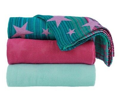 Tula Baby Blanket Set Galaxy - Set Of 3 Blankets + Bag Stars Snuggling Swaddling