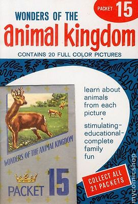 Wonders of the Animal Kingdom Stamp Packets (1959) #15 VF 8.0