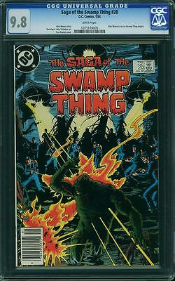 Saga of the Swamp Thing #20 (CGC 9.8 NM/MT) (DC 1984) 1st Alan Moore on Title!