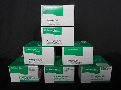 NEW IN BOX Kimwipes, 7 boxes