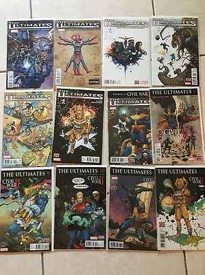 Marvel Comics The Ultimates (2015) Full Run Issues 1-12