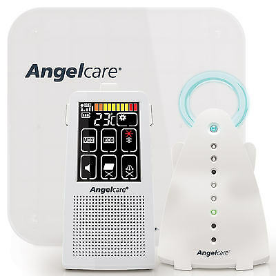 Angelcare AC701 DIGITAL TOUCH SCREEN Breathing Movement & Sound BABY MONITOR New