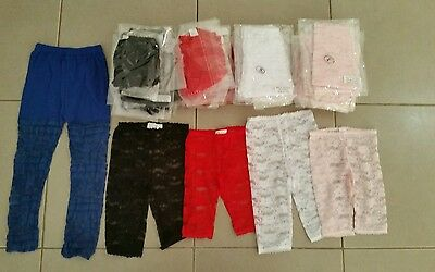 BULK!!! Girls Lace Leggings x 47 - Closing Down Sale!!!