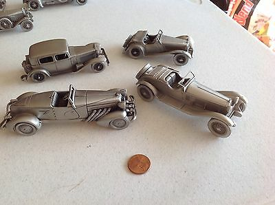 Pewter cars