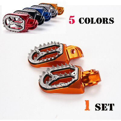 Motorcross foot pegs footrest for KTM 250 SX-F/EXC-F 2006-2015 2014 2013